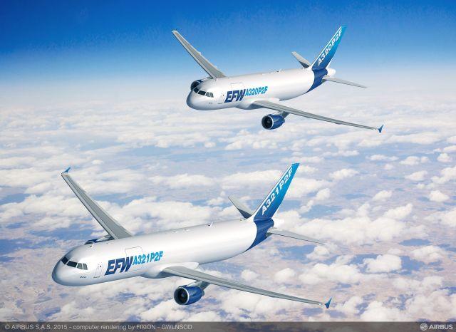 ニュース画像 1枚目:A321 P2FとA320 P2F