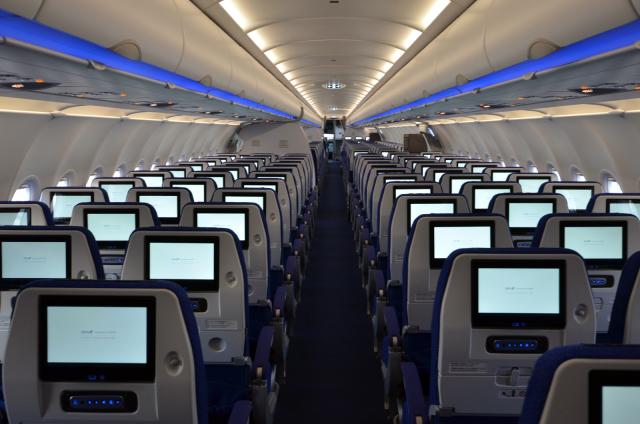 ニュース画像 1枚目:ANA 機内イメージ