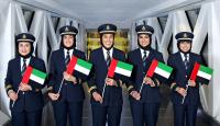 ニュース画像:エミレーツ航空、UAE女性デーで5大陸へ5人の副操縦士がフライト操縦