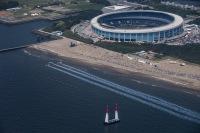 レッドブル・エアレース千葉、木更津飛行場の北側付近に訓練空域 の画像