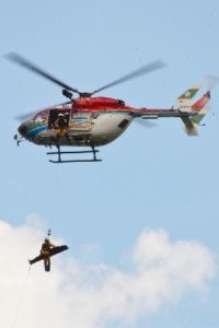 ニュース画像:愛媛県消防防災航空隊、四国中央市消防本部と合同訓練 9月1日