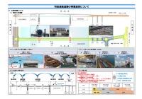 ニュース画像:羽田連絡道路、河口部の土砂堆積や台風などで工事遅延 五輪に間に合わず