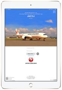 ニュース画像:JAL、A350で日本初の電子フライトログ・整備記録の運用を開始