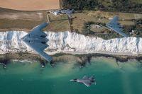 ニュース画像 4枚目:イギリスのF-35と初めての編隊飛行