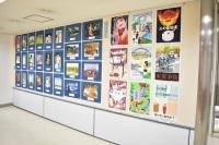 ニュース画像:鹿児島空港、9月30日まで姶良市立帖佐中学校の生徒作品展を開催