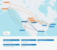 ニュース画像:アメリカン航空、2020年夏にモンタナ州、アラスカ州路線を拡大