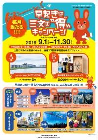 ニュース画像:庄内空港、ホテルペア宿泊券などが当たる搭乗キャンペーン 11月末まで