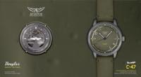 ニュース画像:腕時計AVIATOR、C-47ダコタをイメージしたモデルを発売