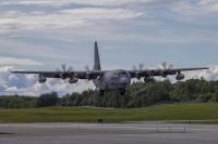 ニュース画像:岩国のKC-130J、9月9日から鹿屋基地にローテーション展開