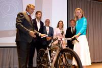 ニュース画像:スキポール空港、空港職員の自転車通勤を促進 インフラ整備で国と提携