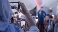 ニュース画像:KLMオランダ航空、ニューヨーク行き便で歴代制服のファッションショー