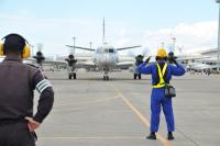 ニュース画像:第5航空隊の2等海尉、8月下旬に機長として初フライト