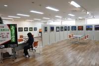 ニュース画像:山形空港、写真愛好会「フォト8」の「ふる里の四季」写真展 9月末まで