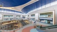 ニュース画像:上海浦東国際空港、新サテライトホールが金属建築アワードで金賞