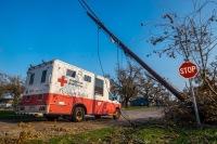 ニュース画像:デルタ航空、ハリケーン「ドリアン」救済活動で赤十字に25万ドル寄付