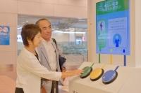 ニュース画像:ANA、新ユニバーサルサービス提供に向けた実証実験を羽田空港で実施