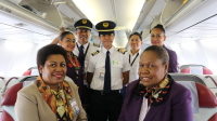 ニュース画像:ニューギニア航空、ポートモレスビー/ナンディ線に就航 737で週1便