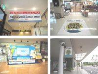 ニュース画像:宮崎空港、サーフィン大会開催で特設ブースや案内カウンターを設置