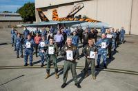 ニュース画像:オーストラリア空軍F/A-18A/B、40万飛行時間を達成
