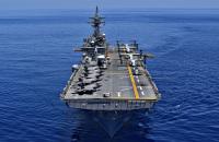 ニュース画像:アメリカ海軍の強襲揚陸艦「ワスプ」、第7艦隊を離れる