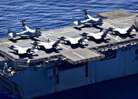 ニュース画像 2枚目:第7艦隊では第31海兵遠征部隊の航空機を搭載