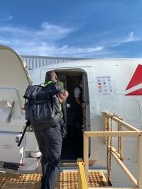 ニュース画像:デルタ、ハリケーン「ドリアン」被災地へ支援便 物資を輸送