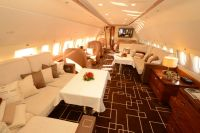 ニュース画像:エアバスのビジネスジェットAJC319、ロシアのエアショーで展示