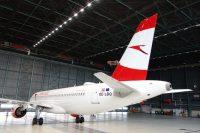 ニュース画像:オーストリア航空、機材検査に自動運転ドローン技術を導入