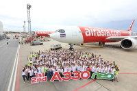 ニュース画像:エアアジア・グループ、導入した2機のA330neoをお披露目