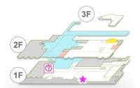 ニュース画像 1枚目:国際線コインロッカー位置
