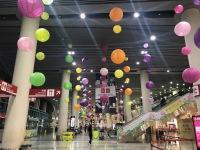 ニュース画像:マカオ国際空港、中秋節を祝う装飾で利用者を出迎え