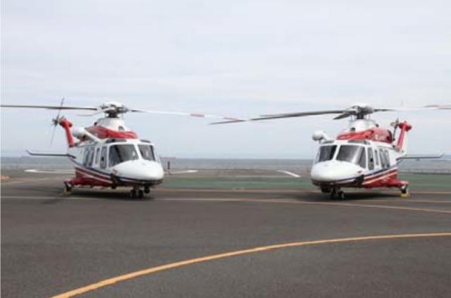 ニュース画像 1枚目:横浜市消防航空隊 「はまちどり」1と2