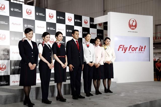 ニュース画像 1枚目:JALの新制服