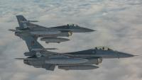 ニュース画像:ベルギー空軍のF-16AM、リトアニアで再びBAPに就く