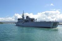 ニュース画像:掃海母艦「ぶんご」と「たかしま」、インド洋方面で海上訓練に参加