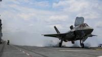 ニュース画像:アメリカ海兵隊、F-35Bの艦上運用試験「OT-1」を完了