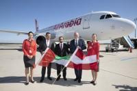ニュース画像:エア・アラビア、シャルジャー/ウィーン線に就航 A320で週4便