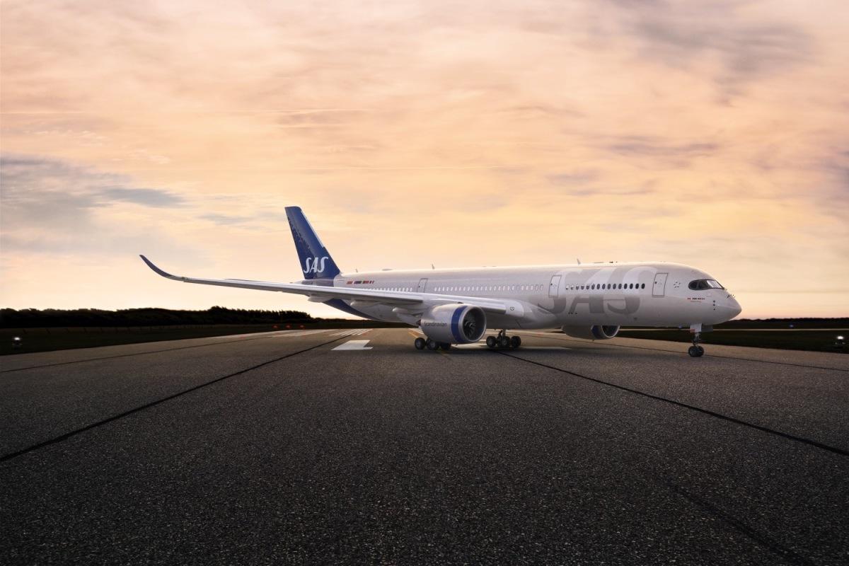 ニュース画像 1枚目:スカンジナビア航空 新塗装 イメージ