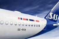 ニュース画像 3枚目:スカンジナビア航空 新塗装 イメージ