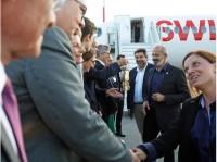 ニュース画像:SWISS、ローザンヌユースオリンピック聖火をアテネから輸送