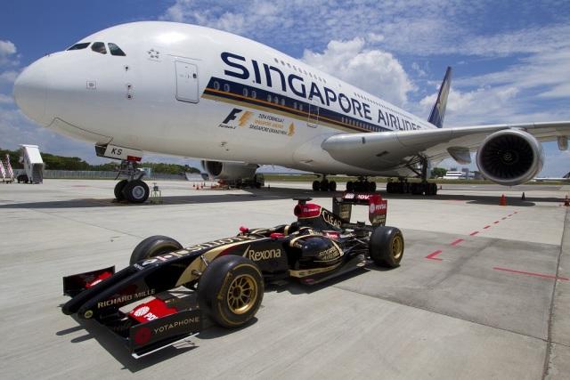 ニュース画像 1枚目:シンガポール航空 F1 タイトルスポンサー契約記念