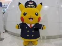 ニュース画像:関空、ポケモンストアのオープン1周年記念 パイロット姿ピカチュウが登場