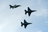 ニュース画像:松島のF-2、東北方面隊創隊や大滝根山分屯基地の記念行事に展示飛行