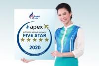 ニュース画像:バンコクエアウェイズ、APEXの航空会社評価で5ツ星認定