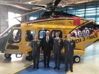 ニュース画像:レオナルド、1,000機目のAW139を納入