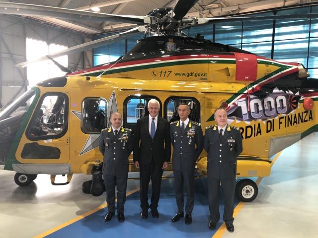 ニュース画像 1枚目:1,000機目のAW139納入式典