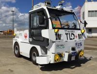 ニュース画像:JAL、成田でトーイングトラクター自動運転の実証実験へ 10月末から