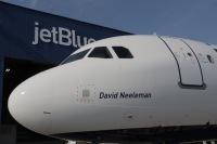 ニュース画像:ジェットブルー、初めてのA321neo「N2002J」が定期便に就航