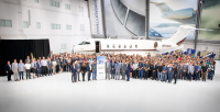 ニュース画像:ボンバルディア、ネットジェッツ100機目のチャレンジャーを納入