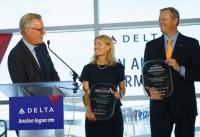 ニュース画像:デルタ、ボストン空港ターミナルAが専用に ローマ線など路線拡大も発表